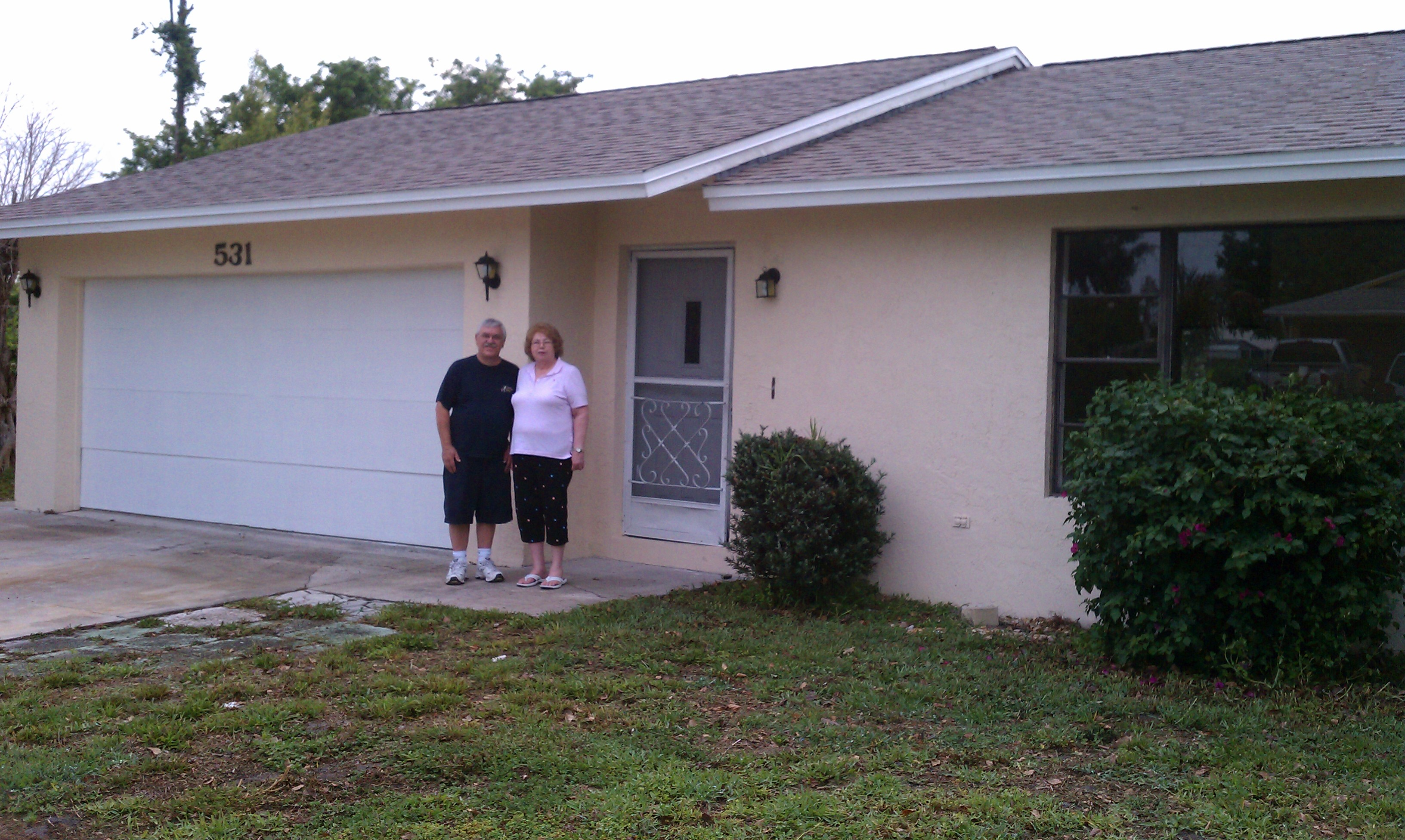 Dave and Sandy buy a house in Port St Lucie